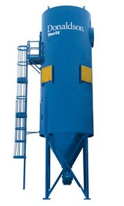 woodworking cement grain chemical food processing applications RF bag collector dust