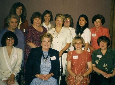 Pictured above are some of the founding members of WOMEN, named at the  the text.