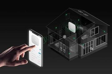 Wireless home or business security.