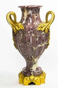 Purple and Bronze Urn