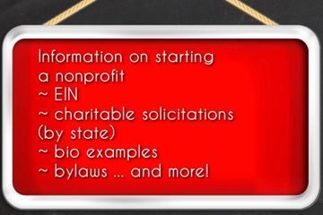 Receive all the knowledge that I have when creating a nonprofit or LLC.