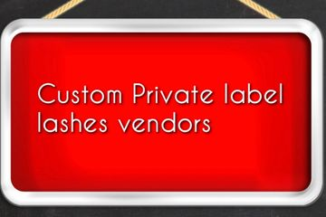 Receive my list of vendors for your own lash line