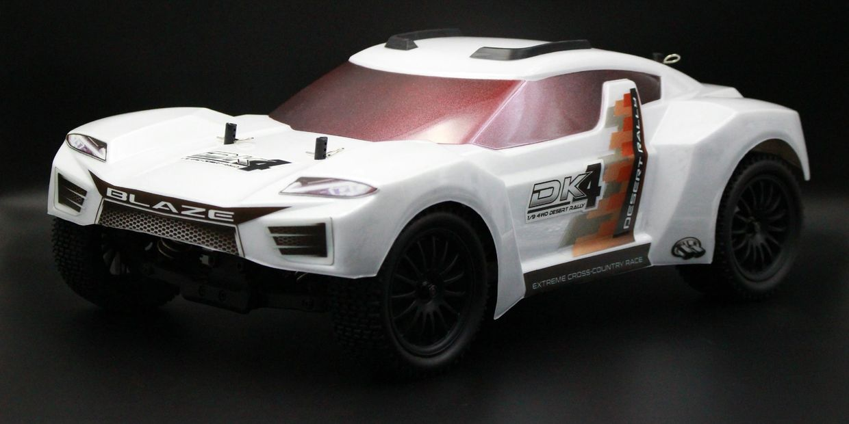 BRC 170031 DK4 1/9 4WD DESERT RALLY (PRE-ASSEMBLED) - CHASSIS KIT