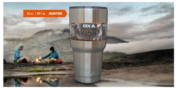 Vaso de acero inoxidable 30 oz Hunter OXA