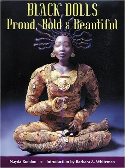 Marcella's artwork was selected for the book cover of Black Dolls: Proud, Bold & Beautiful