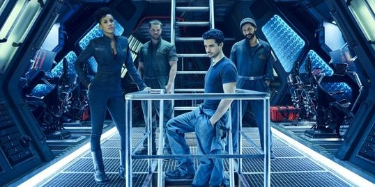 "Photo: Cast of ""The Expanse"" on SYFY Credit: © 2015 Jason Bell/SYFY"