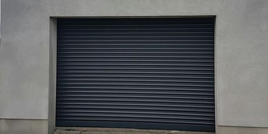 Shutter door for someone that wants extra security for their domestic garage or workshop