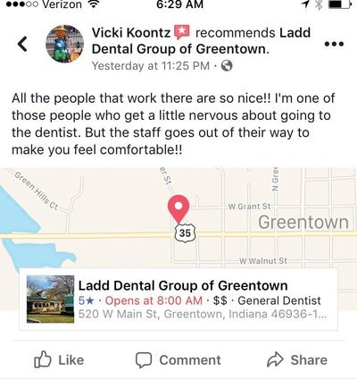 Greentown dentist, dentist in greentown, caring dentist, caring dental, good dentist, great dentist