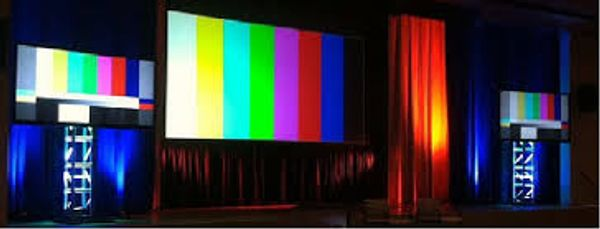 Professional Sounds also rents video screens and digital video projectors for all occasions.