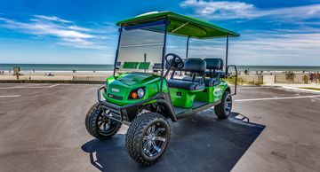 6 Passenger Lifted Custom Upgraded Limo Golf Cart Rental