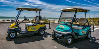 4 Passenger Custom Basic Golf Cart Rental