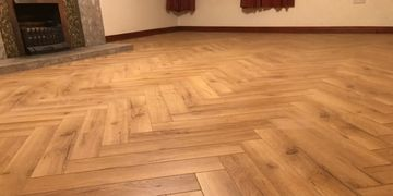 Quality Natural Oak herringbone wood flooring, Letterkenny Co Donegal