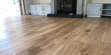 Engineered oak wood timber flooring supplied and installed in letterkenny co donegal