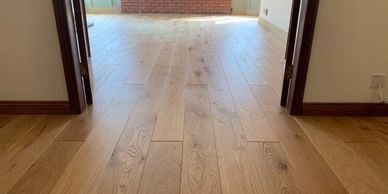 Engineered Oak wood flooring supplied and fitted by FloorIT, Letterkenny, Co Donegal