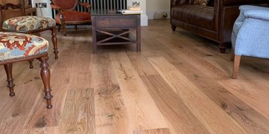 Engineered oak wood timber flooring supplied and installed by FloorIT