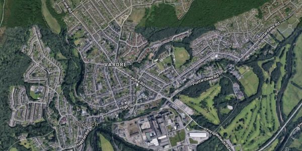 Map of Clydach