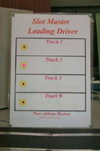 Slot master leading driver card
