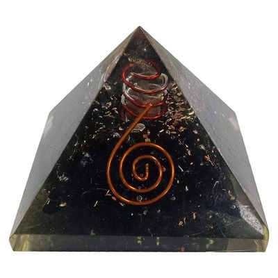 Orgonite & Tourmaline Protection Pyramid
