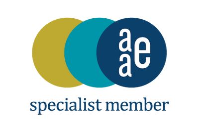 American Association of Endodontics certification of membership as a specialist logo