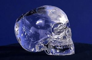 The Mitchell Hedges Crystal Skull.