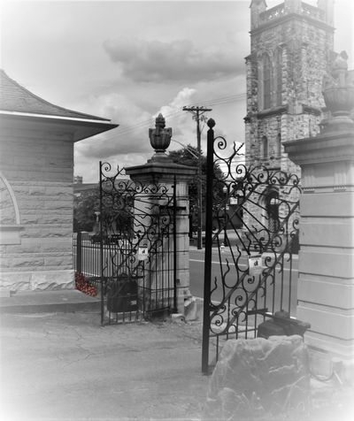 The Gates of Old Gray Cemetery