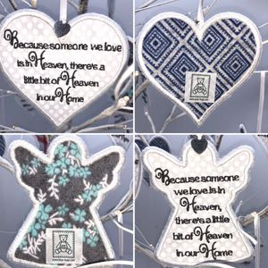 Remembrance Angels and Hearts