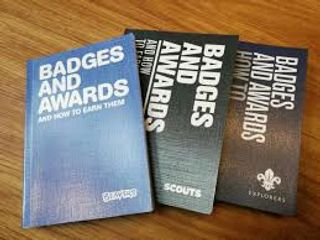 Scouting Badge Books