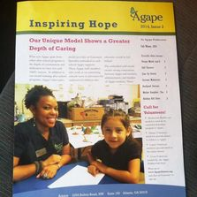 Agape Volunteer Give Children