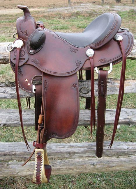 B-Light Trail Saddle | R  W  Bowman Saddle Co , LLC