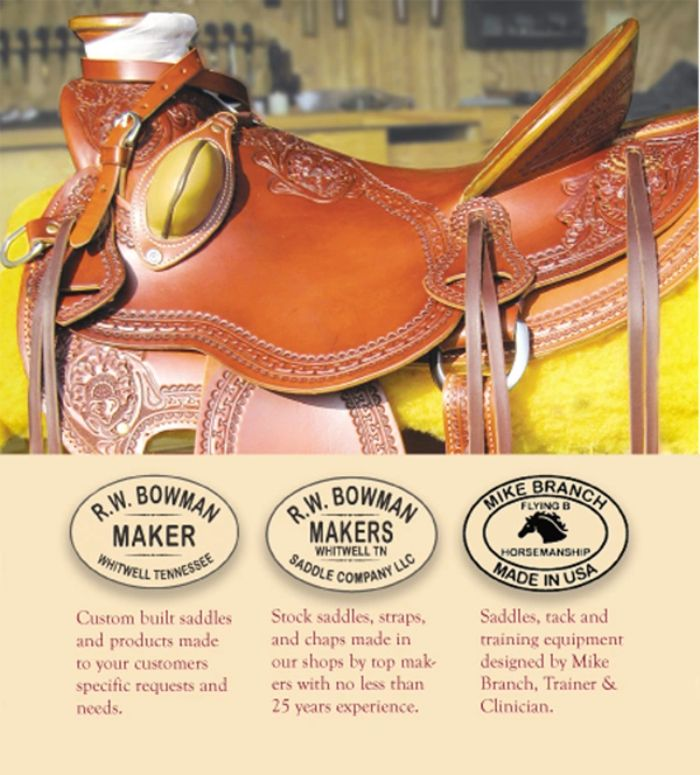 R  W  Bowman Saddle Co , LLC