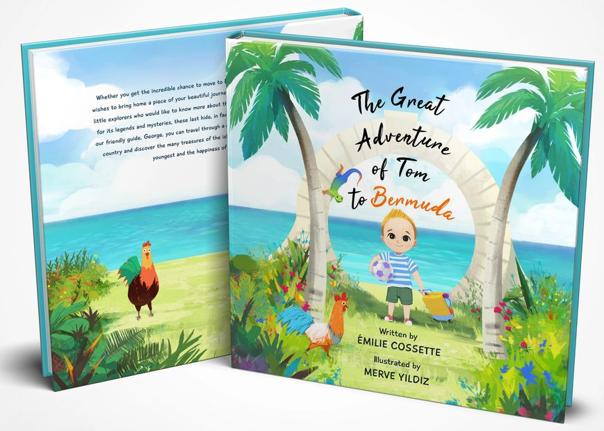 Children's book Bermuda ¨The Great Adventure of Tom to Bermuda¨