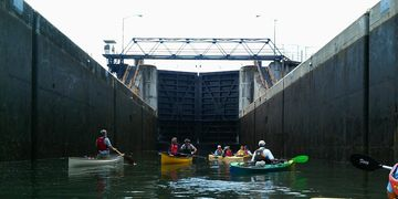 Half-day Kayak and Bike Tours on the Erie Canal Waterway.
