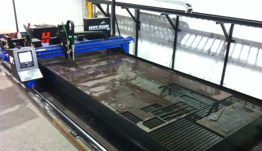 Hi-Def CNC Plasma Table for cutting steel and aluminum