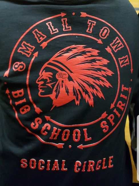 Long Sleeve Black School Spirit Shirt - SCES PTO