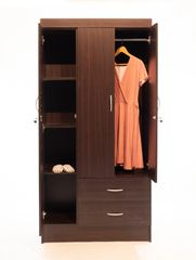 3DOOR WARDROBE WITH 2DRAWERS