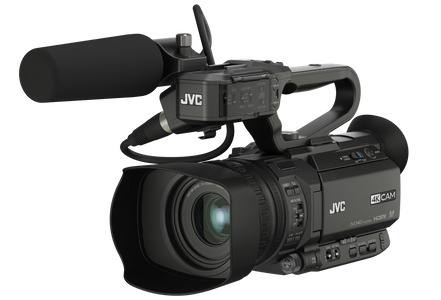 JVC GY-HM250U Portable 4K Streaming Camera