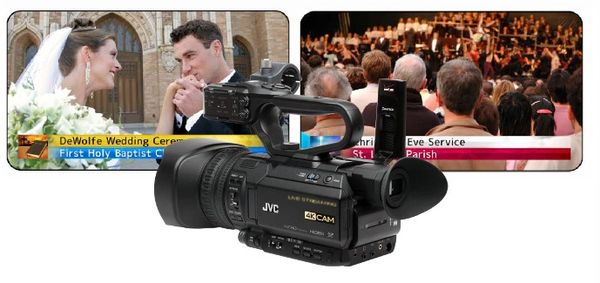 JVC GY-HM250HW - House of Worship 4K Streaming Camera