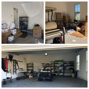 Home organizing, decluttering, garage organizing services