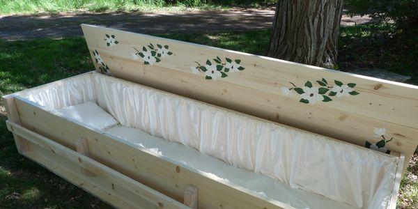 Old West Coffins - Pine Coffins, Wood Coffins
