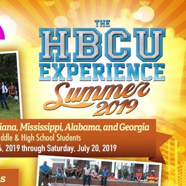 The HBCU Experience Summer 2019 Flyer