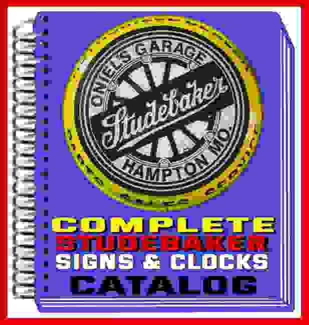 Studebaker Signs - Lighted Studebaker Sign - Studebaker Garage Sign - Personalized Studebaker Sign