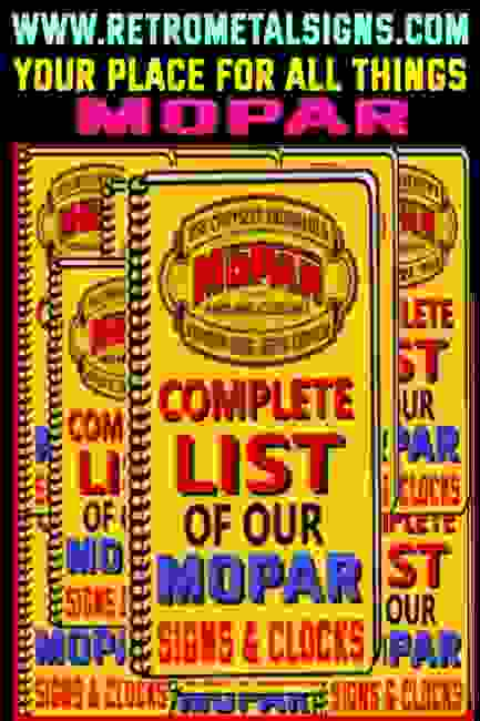 Mopar Signs - Lighted Mopar Sign - Personalized Mopar Signs