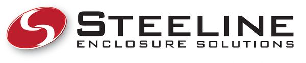 Steeline Enclosures Logo with link