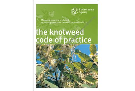 Environment Agency - Japanese knotweed Code of Practice