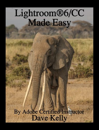 "Lightroom® 6/CC Made Easy is a ""how to"" textbook completely covering all seven modules of Lightroom®"