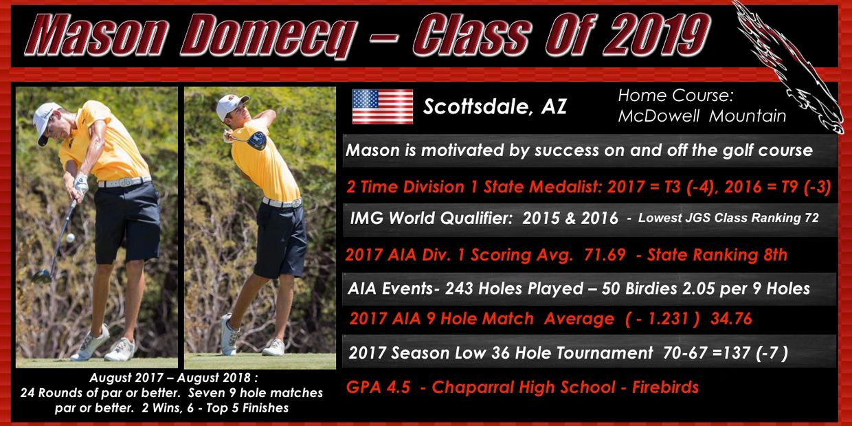 MASON DOMECQ RESUME