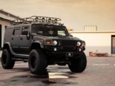 This type of Hummer appears in the novel.
