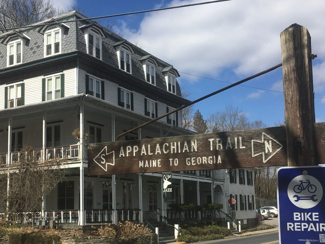 The Deer Head Inn, a must stop when on the Appalachian Trail, Ha Ha Ha, I'll get there but Not Walking