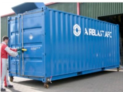 Containerized Blast Booth