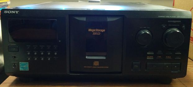 Sony CDP-CX355 300 CD for sale